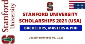 Stanford University Scholarships 2021 22 in USA Fully Funded