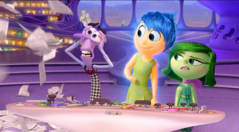 """""""Inside Out"""" will be screened at Levy Park on Friday. Photos: HO, handout / McClatchy-Tribune news service / TNS"""