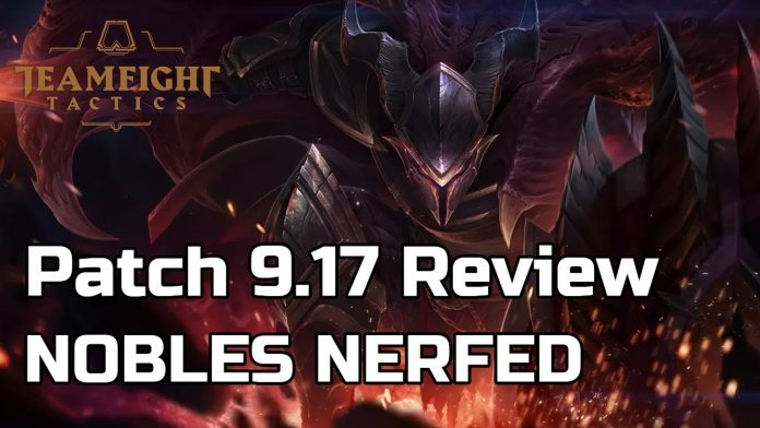 TFT Patch Notes 9.17 released