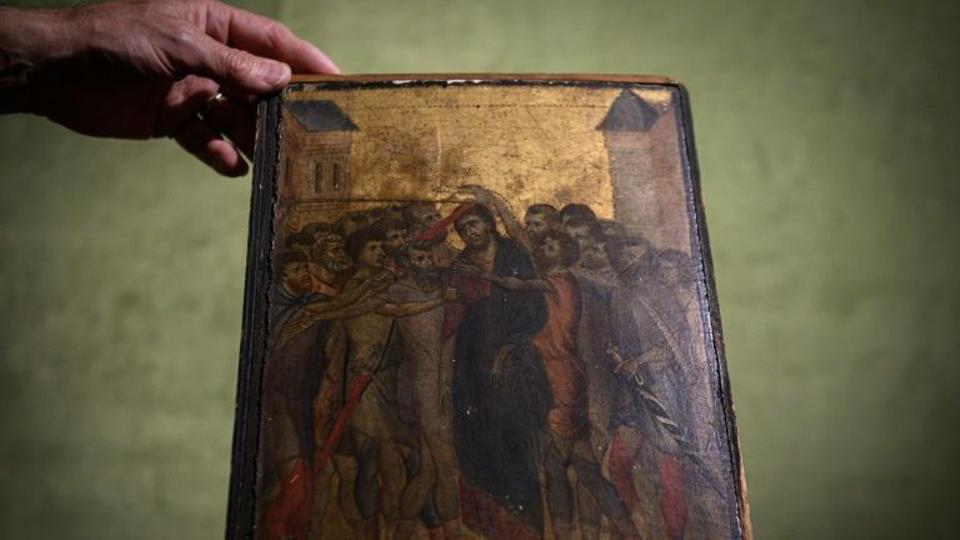 This painting is also known as Florentine artist Cenni di Pepo (Cimabue) in the late 13th century.