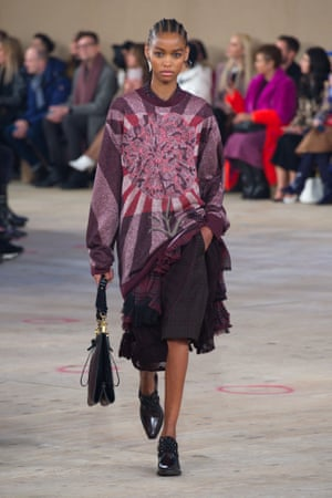 Coach jumper co-produced with Kaffe Fassett at the Fall / Winter 2019 show.
