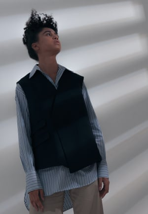 Shirts from Deveaux New York, £ 417, waistcoat, £ 1,028 and pants, £ 575. Styling: Melanie Wilkinson. Hair: Frank's Shukeel Murtaza uses Bumble and Bumble. Makeup: Alexis Day at the premiere using Niod and Mavala. Stylist's Assistant: Peter Bevan. Model: Cindy at Milk. Getty Images. David Newby