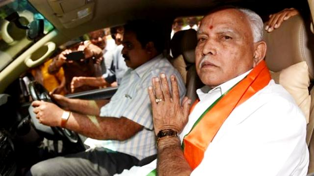 BS Yeddyurappa after resigning to CM