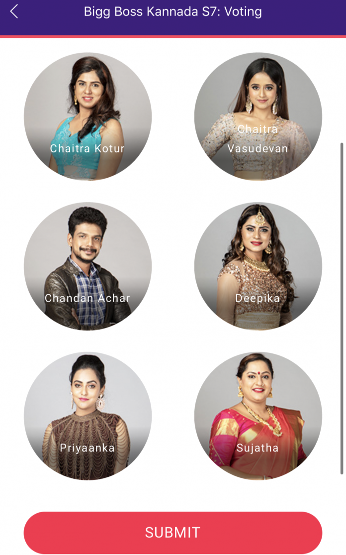 Bigg Boss 7 Kannada Vote Online Who Will You Save In Week