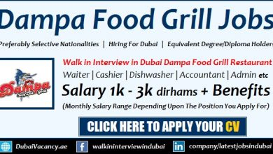 Dampa Seafood Grill Careers in Dubai Walk in Interview New Openings
