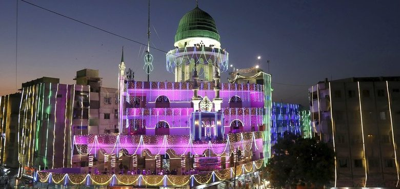 In pictures: Bright lights, colourful processions abound as Eid-i-Miladun Nabi celebrated across Pakistan - Pakistan