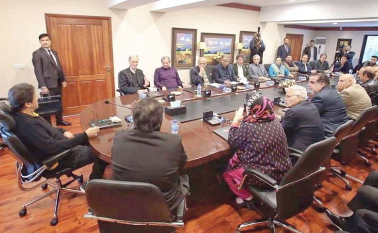 PTI shows no trust in chief election commissioner - Newspaper