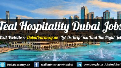 Teal Hospitality Dubai Career