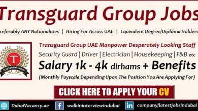 Transguard Group Careers Announced Latest Jobs Recruitment