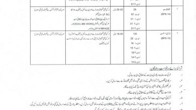 jobs in Directorate General Livestock Dairy Development, Khyber P