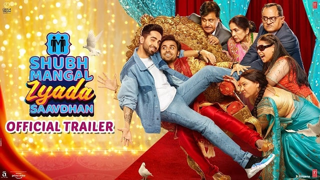 Shubh Mangal Zyada Saavdhan Trailer Review Gay Romance Story With Lots Of Comedy Drama Ayushmann Khurana